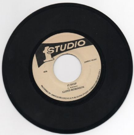 Lloyd Robinson - It Deep / Lloyd Robinson & Brentford Disco Set - It Deep Pt. 2 (Studio One) JA 7""
